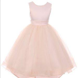 RainKids Little Girls Flower Girl Dress - Size 4